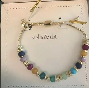 Stella & Dot Anda Intention bracelet Creativity